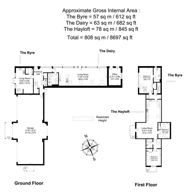 The Hayloft - Floor Plan